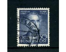 1953 - LOTTO/11848A - GERMANIA FEDERALE - 30p. VON LIEBIG - USATO