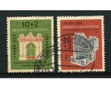 1953 - LOTTO/11849 - GERMANIA FEDERALE - ESPOSIZIONE IFRABA 2v. - USATI