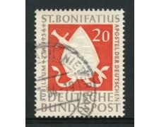 1954 - LOTTO/11853 - GERMANIA FEDERALE - 20p. S.BONIFACIO - USATO
