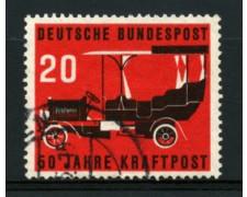 1955 - LOTTO/11857 - GERMANIA FEDERALE - 20p. AUTOPOSTALE - USATO