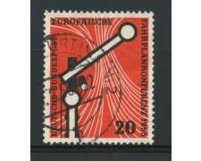 1955 - LOTTO/11861 - GERMANIA FEDERALE - 20p. ORARI FERROVIARI - USATO