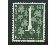 1955 - LOTTO/11862 - GERMANIA FEDERALE - 10p. A.STIFTER - USATO