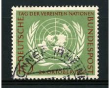 1955 - LOTTO/11864 - GERMANIA FEDERALE - 10p. GIORNATA ONU - USATO
