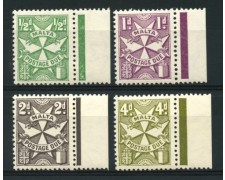 1967 - LOTTO/11883 - MALTA - SEGNATASSE  4v. - NUOVI