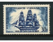 1955 - LOTTO/11903 - FRANCIA - AMICIZIA FRANCO-CANADESE - NUOVO