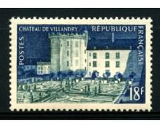 1954 - LOTTO/11910 - 18 Fr. CASTELLO DI VILLANDRY - NUOVO