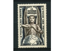1954 - LOTTO/11913 - FRANCIA - SISTEMA METRICO DECIMALE - NUOVO