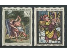 1963 - LOTTO/11927 - FRANCIA - QUADRI DELACROIX /CONCHES 2v.- NUOVI