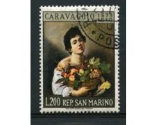 1960 - LOTTO/12005 - SAN MARINO - 200 LIRE CARAVAGGIO - USATO