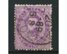 1879 -  LOTTO/12009 - REGNO - 50c. VIOLETTO UMBERTO I° - USATO
