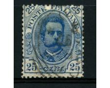 1891 - LOTTO/12053 - REGNO - 25c. UMBERTO I° - USATO