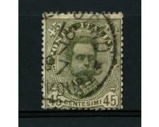 1891 - LOTTO/12054 - REGNO - 45c. UMBERTO I° - USATO