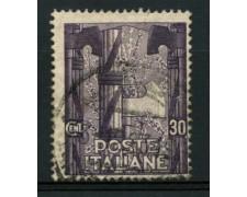 1923 - LOTTO/12060 - REGNO - 30c. MARCIA SU ROMA  - USATO