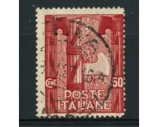 1923 - LOTTO/12061 - REGNO - 50c. MARCIA SU ROMA - USATO