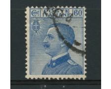 1923 - LOTTO/12062 - REGNO - 60c. AZZURRO - USATO