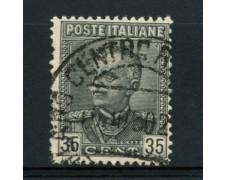 1929 - LOTTO/12066 - REGNO - 35c. EFFIGIE - USATO