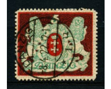 1922 - LOTTO/12096 - DANZICA - 5m. STEMMA - USATO