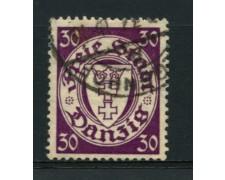 1935 - LOTTO/12100 - DANZICA - 30p. STEMMA - USATO