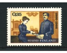 1966 - LOTTO/12122 - FINLANDIA - ESPOSIZIONE FILATELICA NORDIA - NUOVO