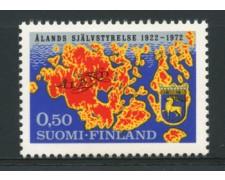 1972 - LOTTO/12126 - FINLANDIA - 50p. CONSIGLIO FEDERALE ALAND - NUOVO
