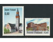 1973 - LOTTO/12127 - FINLANDIA - EDIFICI 2v. - NUOVI