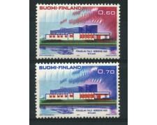 1973 - LOTTO/12128 - FINLANDIA - NORDEN 2v. - NUOVI