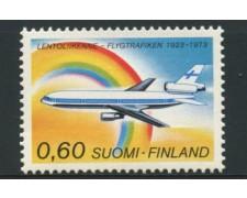 1973 - LOTTO/12130 - FINLANDIA - TRAFFICO AEREO - NUOVO