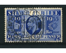 1935 - LOTTO/12149 - GRAN BRETAGNA - 2,5p. GIUBILEO - USATO
