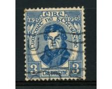1929 - LOTTO/12156 - IRLANDA - 3p. CULTO CATTOLICO - USATO