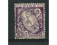 1922/23 - LOTTO/12157 - IRLANDA - 5p. VIOLETTO - USATO