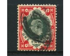 1902 - LOTTO/12327 - GRAN BRETAGNA -  1 s. RE EDOARDO VII° - USATO
