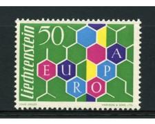 1960 - LOTTO/12243 - LIECHTENSTEIN - EUROPA 1v. - NUOVO