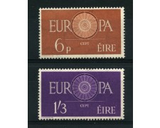 1960 - LOTTO/12244 - IRLANDA  - EUROPA 2v. - NUOVI