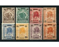 1906/16 - LOTTO/12248 - SOMALIA  - SOPRASTAMPATI 7v. - LING.