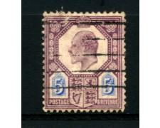 1902 - LOTTO/12321 - GRAN BRETAGNA - 5p. RE EDOARDO VII° - USATO