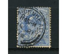 1911 - LOTTO/12329 - GRAN BRETAGNA - 2,5p. AZZURRO RE EDOARDO VII° - USATO