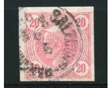 1899 - LOTTO/12351 - AUSTRIA - 20h. ROSA PER GIORNALI - USATO