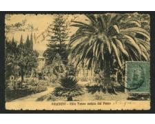 1910 - LOTTO/12369 - REGNO -  5+5c. GARIBALDI SU CARTOLINA DA PALERMO -