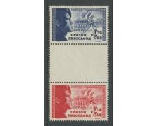 1942 - LOTTO/12372 - FRANCIA  - LEGIONE TRICOLORE TRITTICO - NUOVO