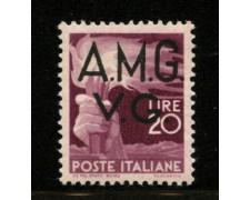 1945 - LOTTO/12380 - VENEZIA GIULIA - 20 LIRE DEMOCRATICA - NUOVO