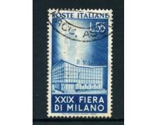 1951  - REPUBBLICA - 55 LIRE FIERA DI MILANO - USATO - LOTTO/12408A