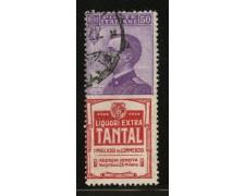 1924 - LOTTO/12418 - REGNO - 50 c. TANTAL - USATO