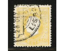 1883 - LOTTO/12431 - PORTOGALLO - 150r.  GIALLO - USATO