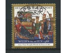 1988 -  LOTTO/12469 - GERMANIA - NATALE  - USATO