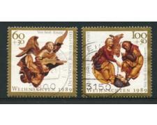 1989 - LOTTO/12470 - GERMANIA  - NATALE 2v . - usati