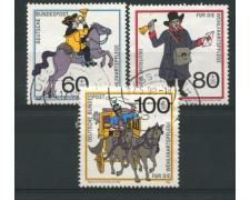 1989 - LOTTO/12473 - GERMANIA - BENEFICENZA 3v. -  USATI