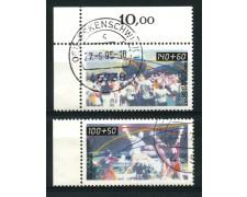 1990 - LOTTO/12474 - GERMANIA - ASSOCIAZIONE PER LO SPORT 2v. - USATI