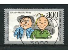 1990 - LOTTO/12475 - GERMANIA - 100+50p. Max e Moritz - USATO