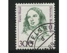 1989 - LOTTO/12484 - GERMANIA - 300p. DONNE CELEBRI - USATO