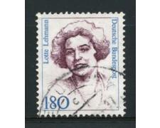 1989 - LOTTO/12487 - GERMANIA - 180p. DONNE CELEBRI - USATO